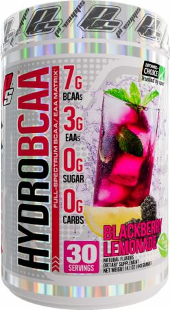 Image of Pro Supps HydroBCAA 30 Servings Blackberry Lemonade