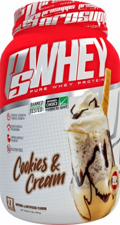 Pro Supps PS Whey Cookies & Cream 2 Lbs. - Protein Powder