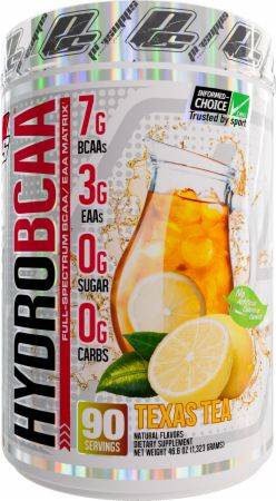 Image of HydroBCAA Texas Tea 90 Servings - Amino Acids & BCAAs Pro Supps