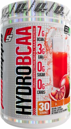 Image of HydroBCAA Blood Orange 30 Servings - Amino Acids & BCAAs Pro Supps