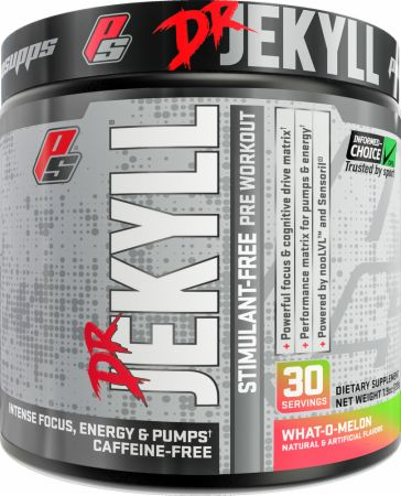 Image of Dr. Jekyll Stimulant-Free Pre Workout What-O-Melon 30 Servings - Pre-Workout Pro Supps