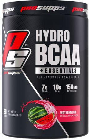 Image of HydroBCAA + EAA Watermelon 90 Servings - Amino Acids & BCAAs Pro Supps