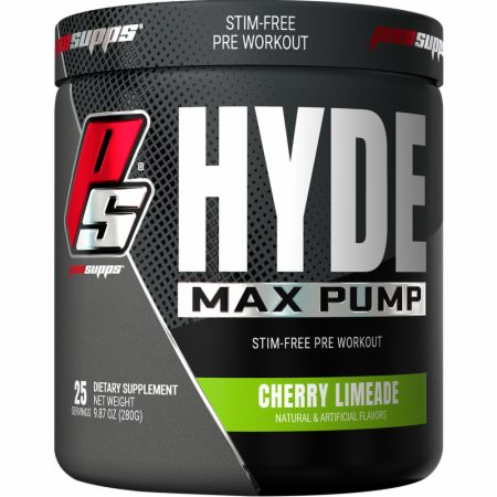 HYDE Max PUMP Stimulant-Free Pre Workout