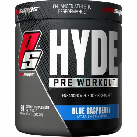 Image of HYDE Pre Workout Blue Raspberry 30 Servings - Pre-Workout Pro Supps