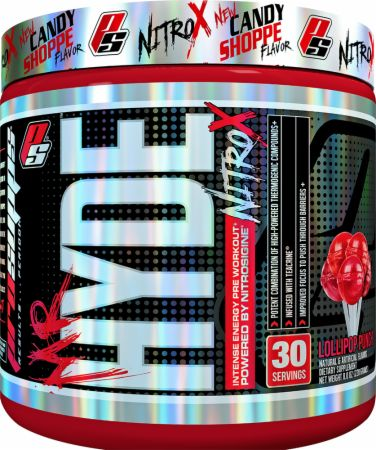 Image of Mr. Hyde NitroX Lollipop Punch 30 Servings - Pre-Workout Supplements Pro Supps