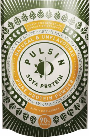 Image of Pulsin' Soya Protein Isolate Powder 1 Kilogram Natural & Unflavoured