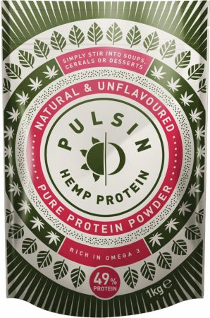Image of Pulsin Hemp Protein Isolate Powder 1 Kilogram Natural & Unflavoured