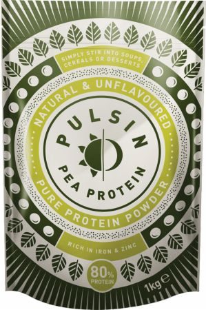 Image of Pulsin' Pea Protein Isolate Powder 1 Kilogram Natural & Unflavoured