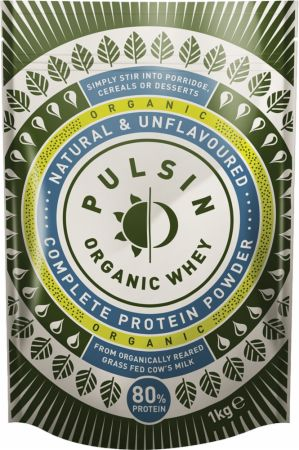 Image of Pulsin' Organic Whey Protein Powder 1 Kilogram Natural & Unflavoured