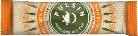 Image of Pulsin Porridge Oat Bar 18 - 40g Bars Orange Choc Chip