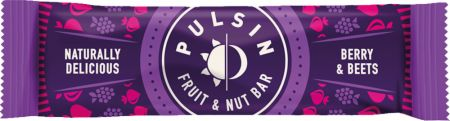 Image of Pulsin Fruit & Nut Bar 18 - 35g Bars Berry & Beets