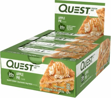 Quest Nutrition Quest Bars Apple Pie 12 Bars - Protein Bars