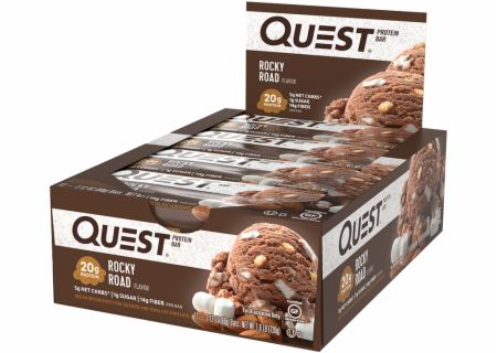 Quest Nutrition Quest Bars Rocky Road 12 Bars - Protein Bars
