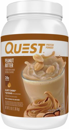 Image of Protein Powder Peanut Butter 3 Lbs. - Protein Powder Quest Nutrition