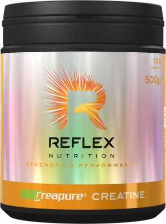 Image of Creapure Creatine Monohydrate Unflavored 500 Grams - Creatine Reflex Nutrition