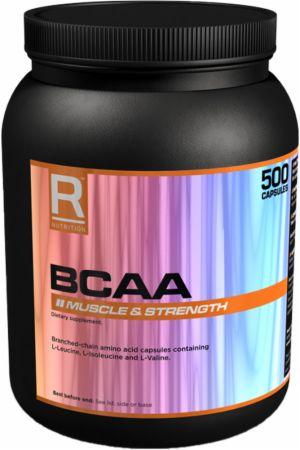 Image of BCAA 500 Capsules - Amino Acids & BCAAs Reflex Nutrition