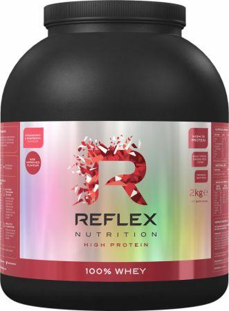 Image of 100% Whey Strawberry & Raspberry 2 Kilograms - Protein Powder Reflex Nutrition