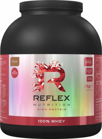 Image of 100% Whey Vanilla Ice Cream 2 Kilograms - Protein Powder Reflex Nutrition