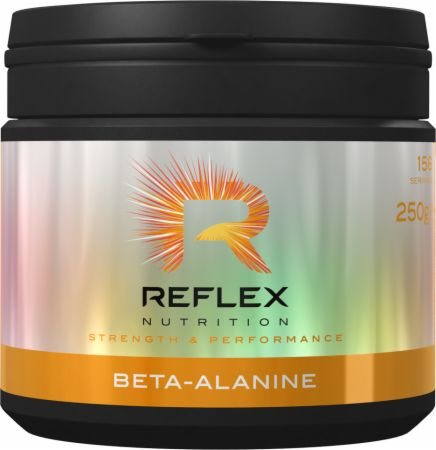 Image of Beta Alanine Unflavored 250 Grams - Amino Acids & BCAAs Reflex Nutrition