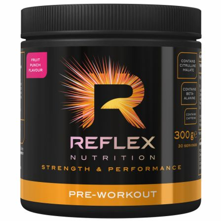 Image of Reflex Nutrition Pre-Workout 300 Grams Fruit Punch