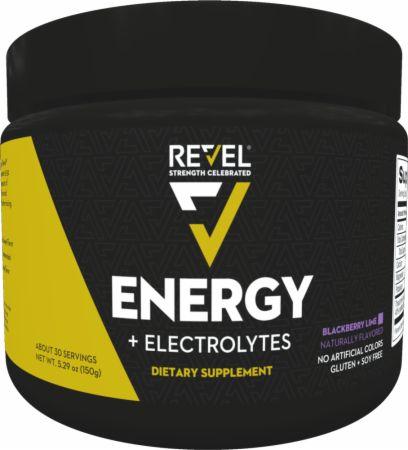 Energy Blackberry Lime 30 Servings - Pre-Workout Supplements Revel