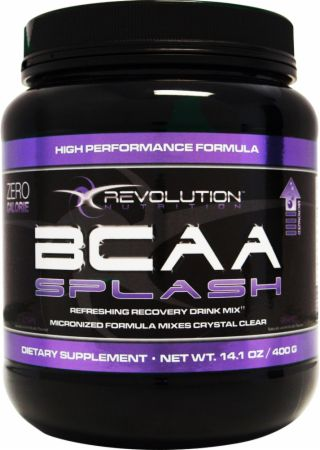 Image of Revolution Nutrition BCAA Splash 73 Servings Grape