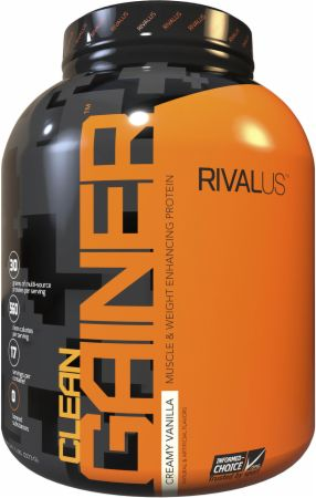Image of Clean Gainer Creamy Vanilla 5 Lbs. - Mass Gainers RIVALUS