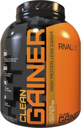 Image of Clean Gainer Chocolate Peanut Butter 5 Lbs. - Mass Gainers RIVALUS