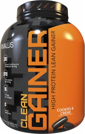 Image of Clean Gainer Cookies & Creme 5 Lbs. - Mass Gainers RIVALUS