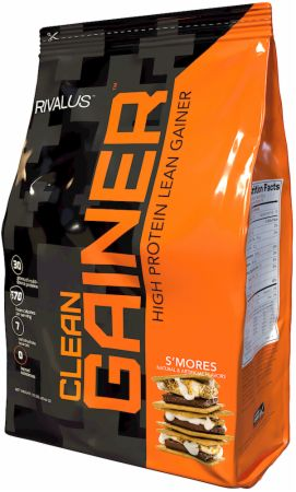 Image of Clean Gainer S'mores 12 Lbs. - Mass Gainers RIVALUS