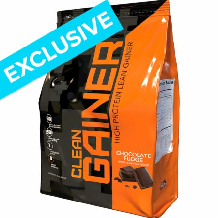 Image of Clean Gainer Chocolate Fudge 12 Lbs. - Mass Gainers RIVALUS