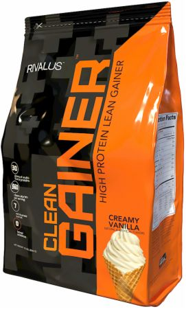 Image of Clean Gainer Creamy Vanilla 12 Lbs. - Mass Gainers RIVALUS