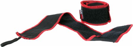 Image of RockWrists Black with Red Stitching One Size - Wrist Wraps RockTape