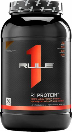 Image of R1 Protein Chocolate Fudge 38 Servings - Protein Powder Rule One Proteins