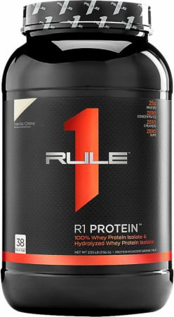 Image of R1 Protein Vanilla Creme 38 Servings - Protein Powder Rule One Proteins