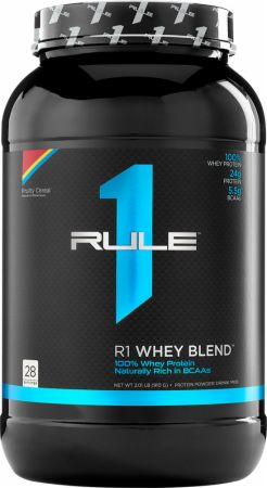 Image of R1 Whey Protein Blend Fruit Cereal 28 Servings - Protein Powder Rule One Proteins