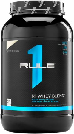 Image of R1 Whey Protein Blend Vanilla Ice Cream 28 Servings - Protein Powder Rule One Proteins
