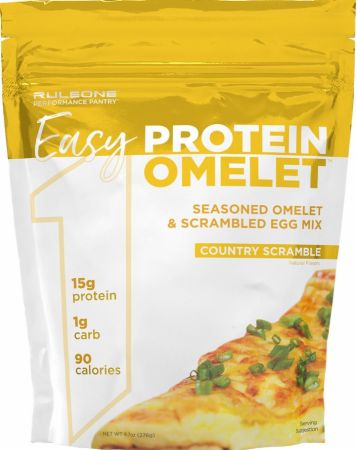 Image of R1 Easy Protein Omelet Country Scramble 12 Servings - Healthy Snacks & Foods Rule One Proteins