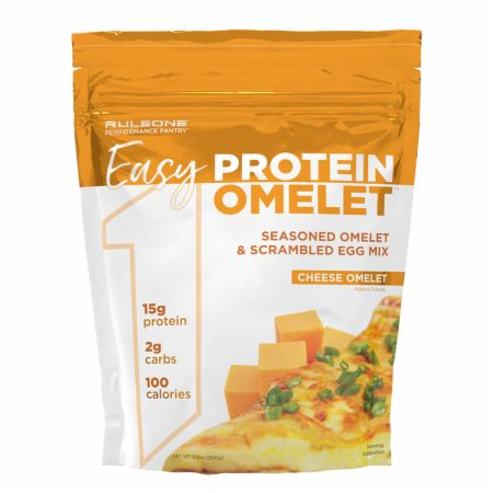 Image of R1 Easy Protein Omelet Cheese Omelet 12 Servings - Healthy Snacks & Foods Rule One Proteins