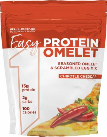 Image of R1 Easy Protein Omelet Chipotle Cheddar 12 Servings - Healthy Snacks & Foods Rule One Proteins