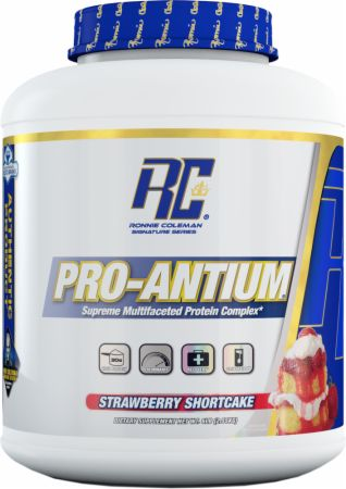 Image of Ronnie Coleman Signature Series Pro-Antium 5.6 Lbs. Strawberry Shortcake