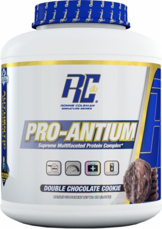 Image of Ronnie Coleman Signature Series Pro-Antium 5.6 Lbs. Double Chocolate Cookie