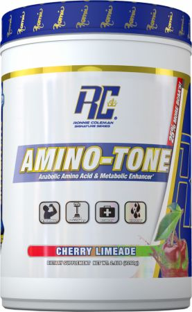 Amino-Tone Cherry Limeade 90 Servings - During Workout Ronnie Coleman Signature Series
