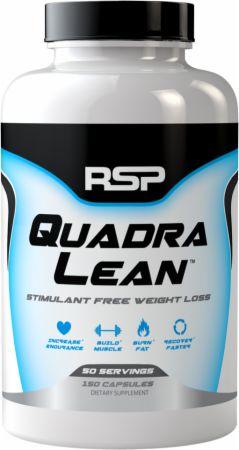RSP Nutrition QuadraLean 150 Capsules - Stimulant Free Fat Burners...