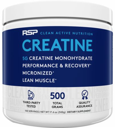 Image of RSP Nutrition Creatine Monohydrate 500 Grams Unflavored