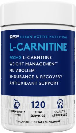 Image of RSP Nutrition L-Carnitine 120 Capsules