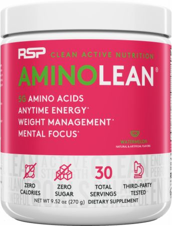 Image of RSP Nutrition AminoLean Energy Formula 30 Servings Watermelon