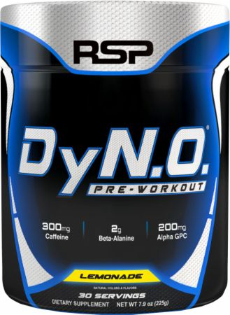 RSP Nutrition DyNO Lemonade 30 Servings - Pre-Workout Supplements
