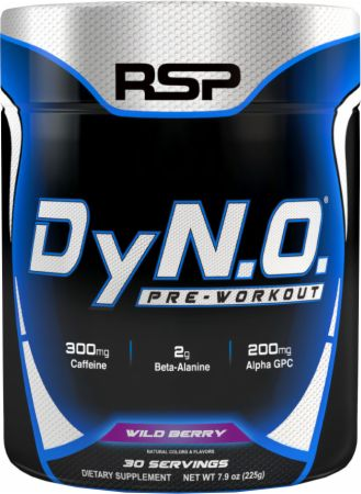 RSP Nutrition DyNO Wild Berry 30 Servings - Pre-Workout Supplements
