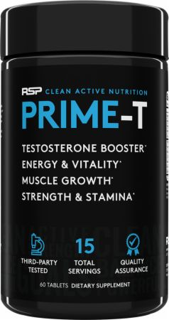 RSP Nutrition Prime-T Testosterone Booster